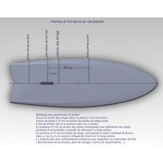 Information pour fixation d'un foil Ketos 714-2511