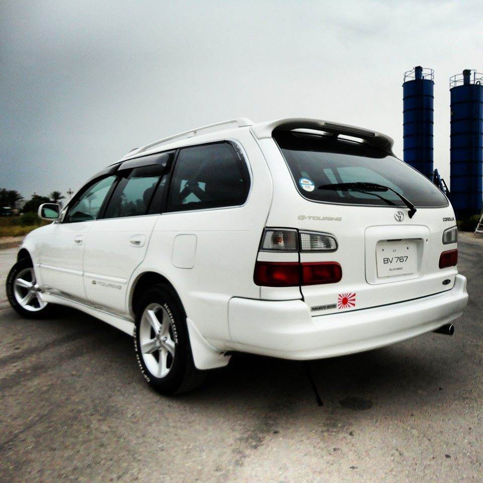 My 98 Corolla AE101 G Touring From PAKISTAN 10262012