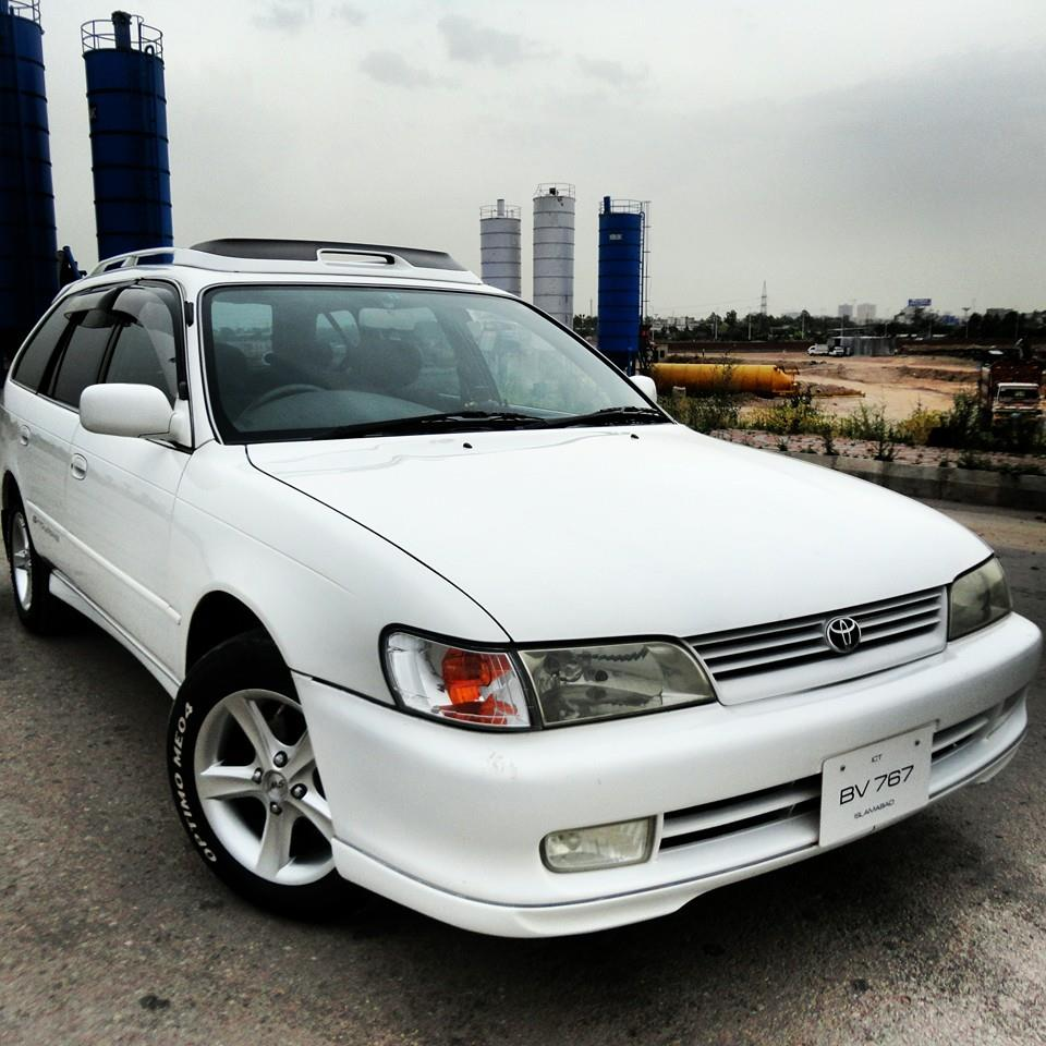 My 98 Corolla AE101 G Touring From PAKISTAN 10325313