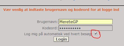 Problemer med registrering Login10