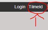 Problemer med registrering Tilmel11