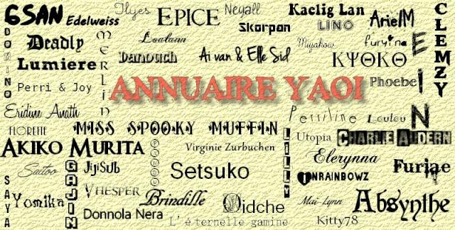 Annuaire Yaoi Ay21110