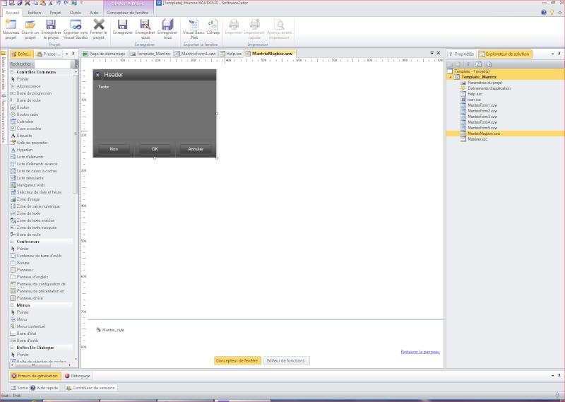 Un template pour applications Mantrix Msgbox10