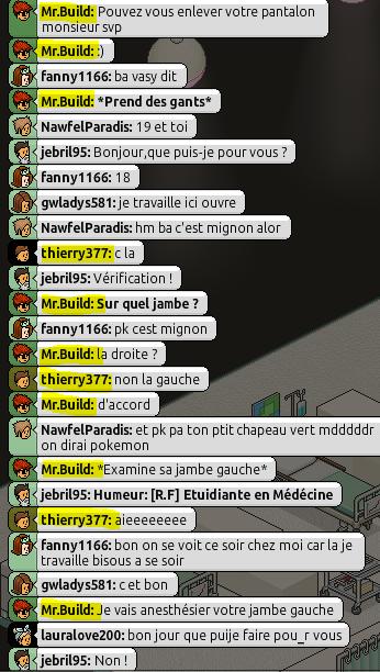 [Mr.Build] Rapports Médicaux [C.H] 2103