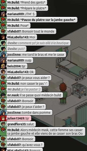 [Mr.Build] Rapports Médicaux [C.H] 2105