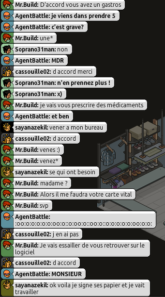 [Mr.Build] Rapports Médicaux [C.H] 2114