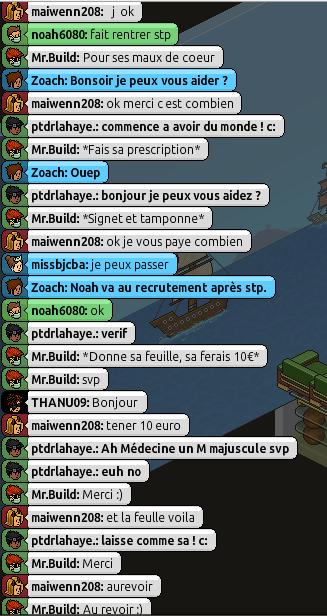 [Mr.Build] Rapports Médicaux [C.H] 2131