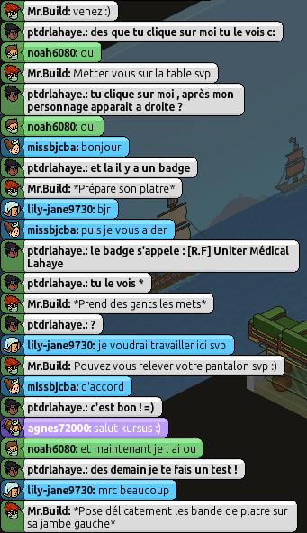 [Mr.Build] Rapports Médicaux [C.H] 359