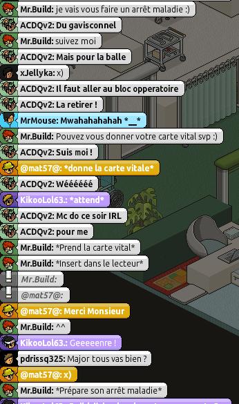 [Mr.Build] Rapports Médicaux [C.H] 614