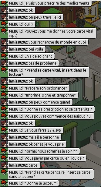 [Mr.Build] Rapports Médicaux [C.H] 618