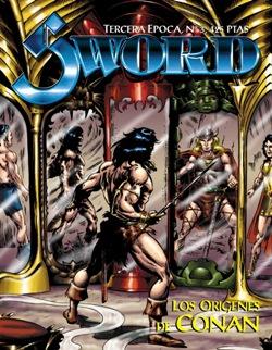 Portadas de las colecciones diversas de Conan Sword_11