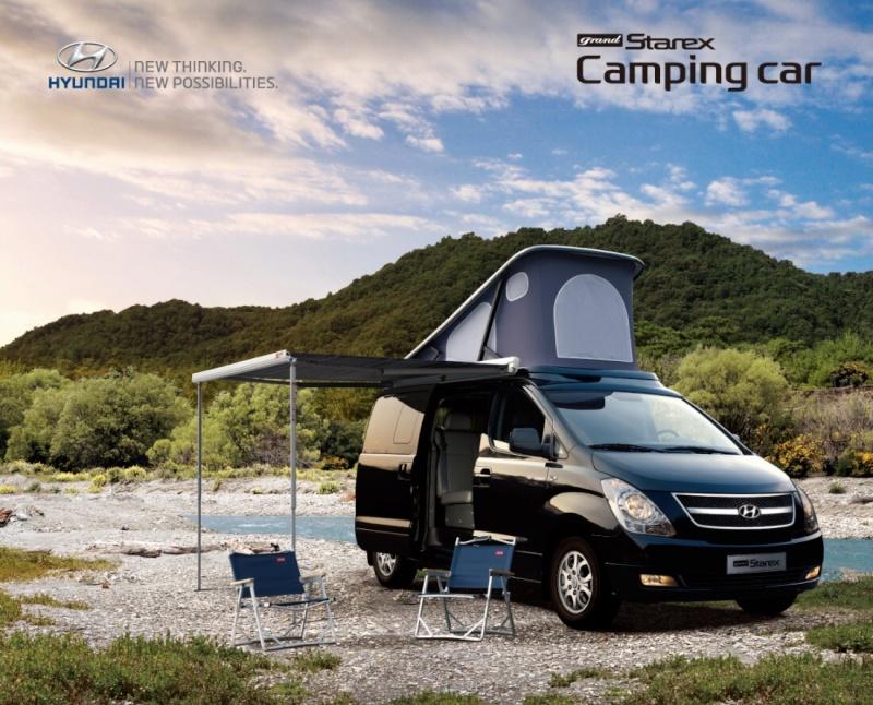Hyundai grand starex camping car Image10