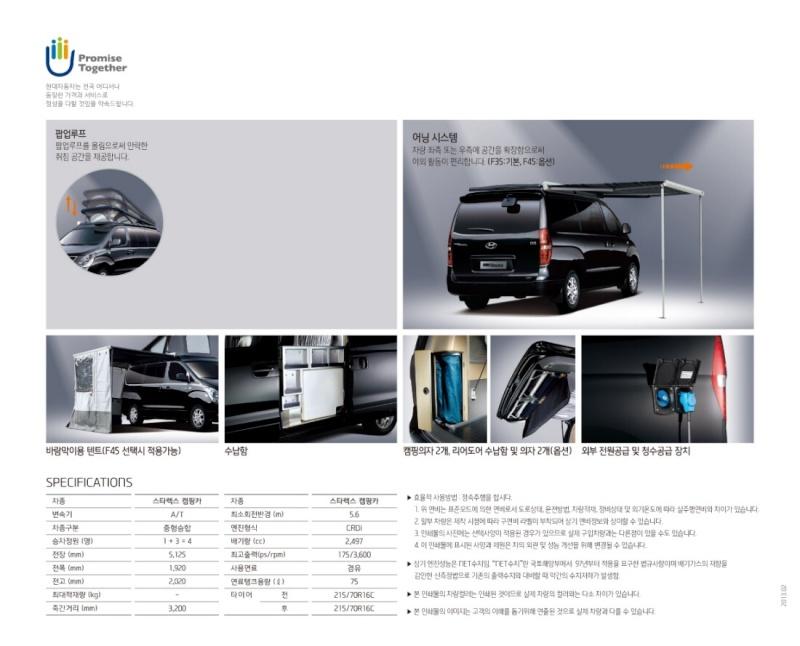 Hyundai grand starex camping car Image23