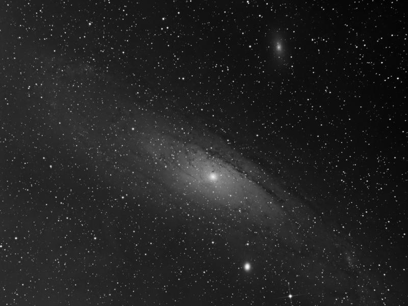 M31 Galaxie d'Andromede APN 60DA /  CCD SBIG STF 8300M Integr11