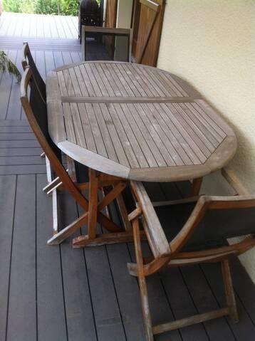 Renover Un Salon De Jardin En Teck