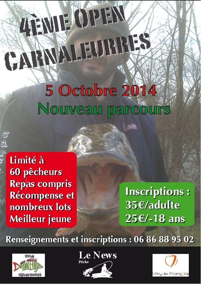 Open Carnaleurre 2014 Affich10