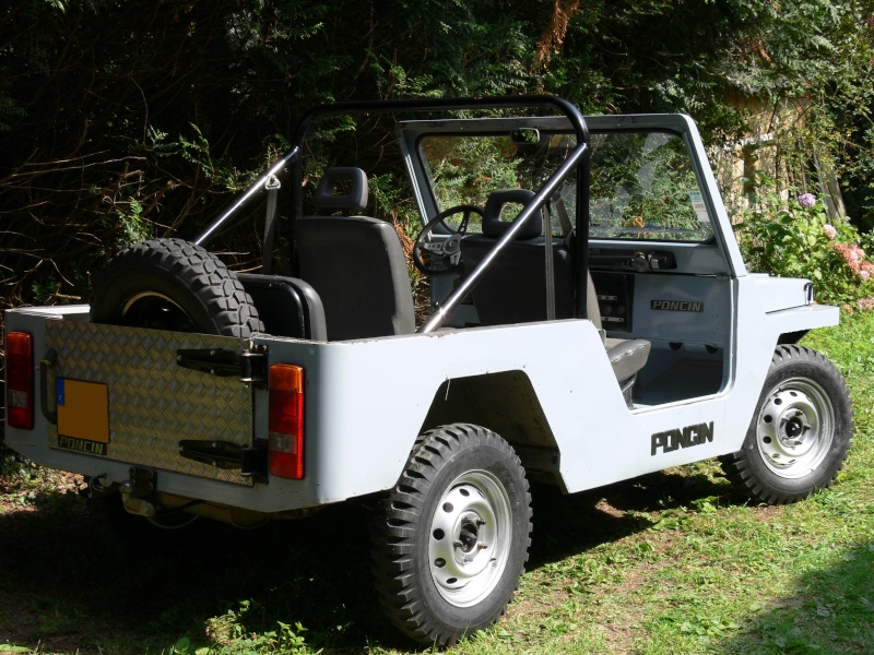Poncin 4X4 chassis long 1995 2.1 Diesel atmo 25000km P1070711