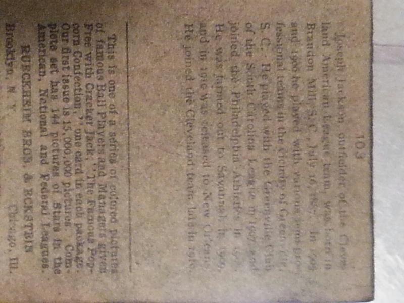 Joe Jackson Cracker Jack card - Page 2 20140613