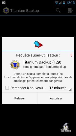 [TUTO] Sauvegarder/Restaurer ses applications et données personnelles sur son Wiko Wax Screen17