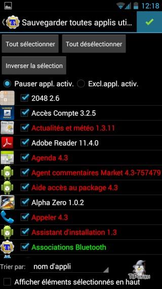 [TUTO] Sauvegarder/Restaurer ses applications et données personnelles sur son Wiko Wax Screen23