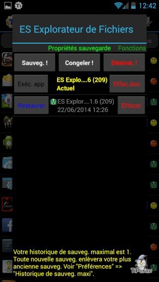 [TUTO] Sauvegarder/Restaurer ses applications et données personnelles sur son Wiko Wax Screen26