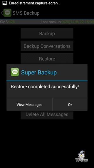 [TUTO] Sauvegarder/Restaurer ses applications et données personnelles sur son Wiko Wax Screen45