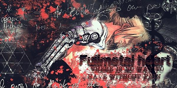 [Photoshop] - Signature :  Fullmetal Heart Sotw12