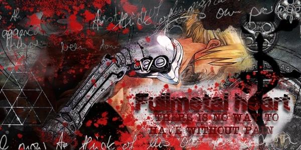 [Photoshop] - Signature :  Fullmetal Heart Sotw510