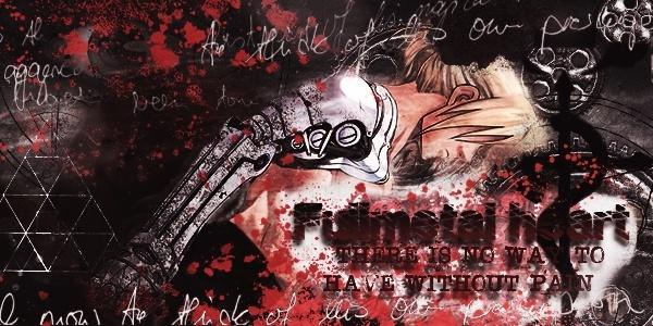 [Photoshop] - Signature :  Fullmetal Heart Sotw610