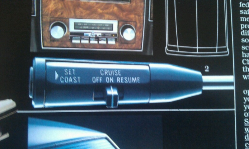 Cruise/turn lever for 1983 Caprice Imag1711