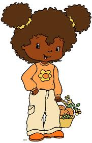 10 Chocolate Female Cartoon Orange10