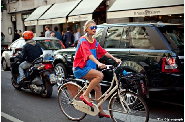 Street Style inspirations ... on wheels Bike_410