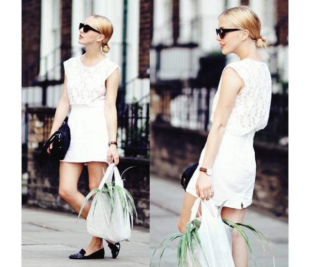 Street Style inspirations...summer hairstyles Bunn10