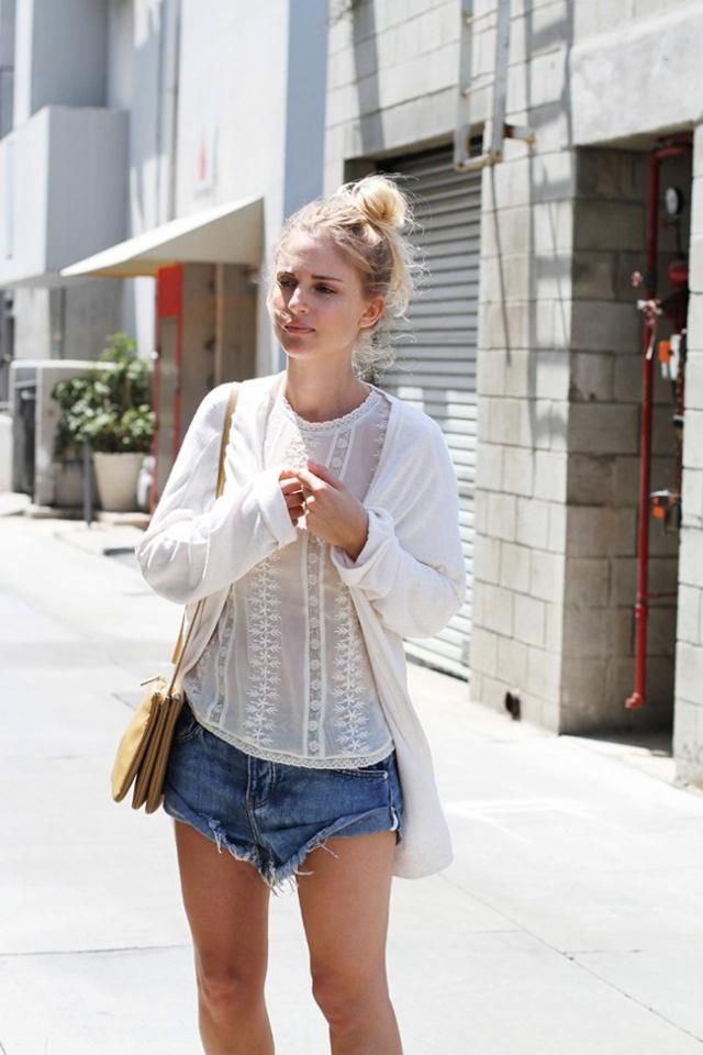 Street Style inspirations...summer hairstyles Bunnn10