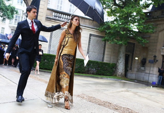 Street Style: Fall 2014 Couture Coutur14