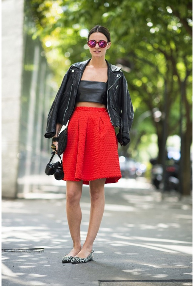 Street Style inspirations ... High above the waist High_w12
