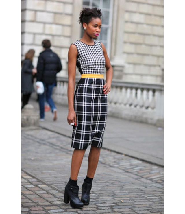 Street Style inspirations….Check on the horizon Plaid_11
