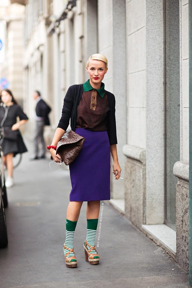 Street Style inspirations…PURPLE Purple11