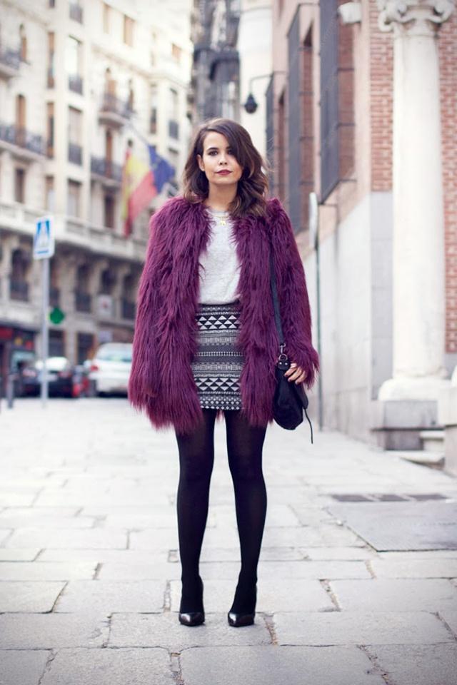 Street Style inspirations…PURPLE Purple13