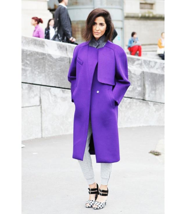 Street Style inspirations…PURPLE Purple14