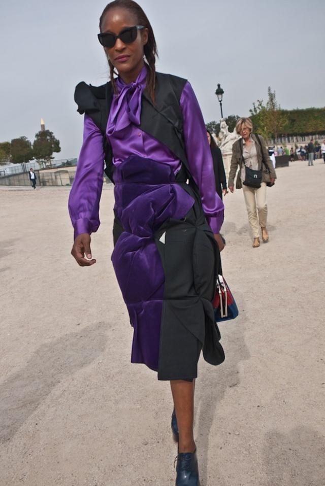 Street Style inspirations…PURPLE Purple15