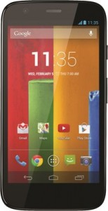Motorola Moto G ( Black ) Smartphone Android v4.3 Jelly Bean Version @ Rs.10499 295-1510