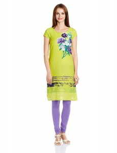 W for Woman Cotton Straight Fit Knee-Long Designer Kurta @ Rs.659 749-2312