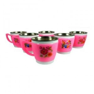 iDeals Set of 6 Pieces Of Light weight Tea or Coffee Cups @ Rs99 M4564-10