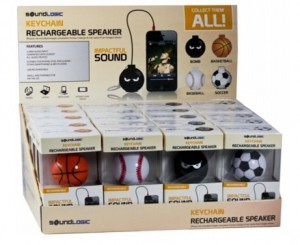 Best Soundlogic Rechargeable Sports Keychain Portable Speaker @ Rs 499 M4722-10