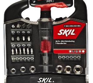 Skil Marketed By Bosch 36 Piece Mini Stainless Steel T Handle Set @ Rs 949 M4759-10