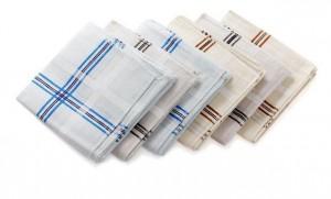 Colourful Stripes Pattern Cotton Handkerchiefs – Pack of 6 Pieces @ Rs 109 M4801-10