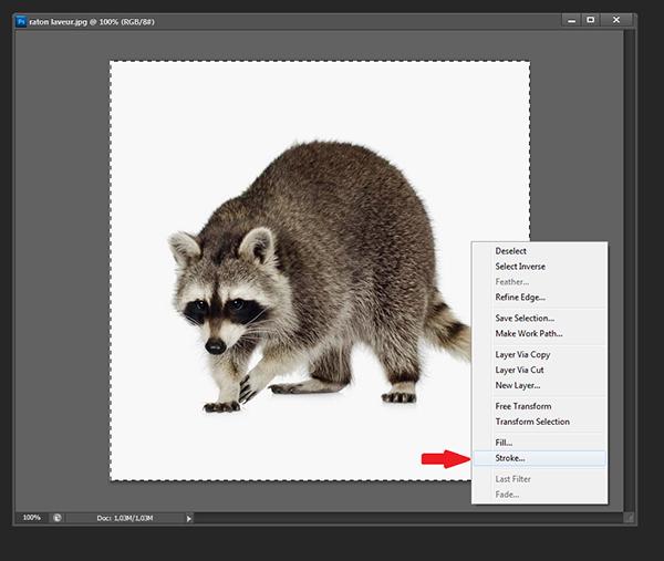 Ajouter un contour à une image [Photoshop] 410
