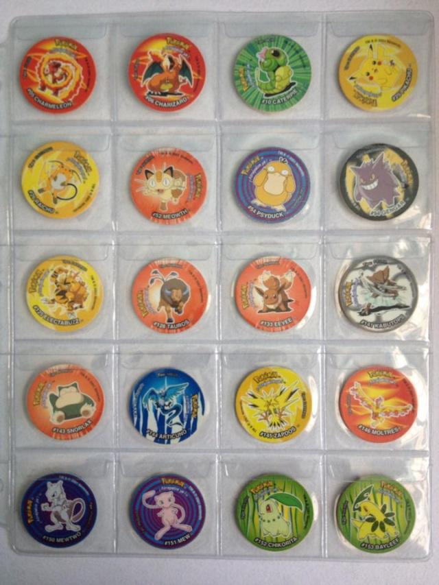 Tazos Pokemon 3 Sabritas 116
