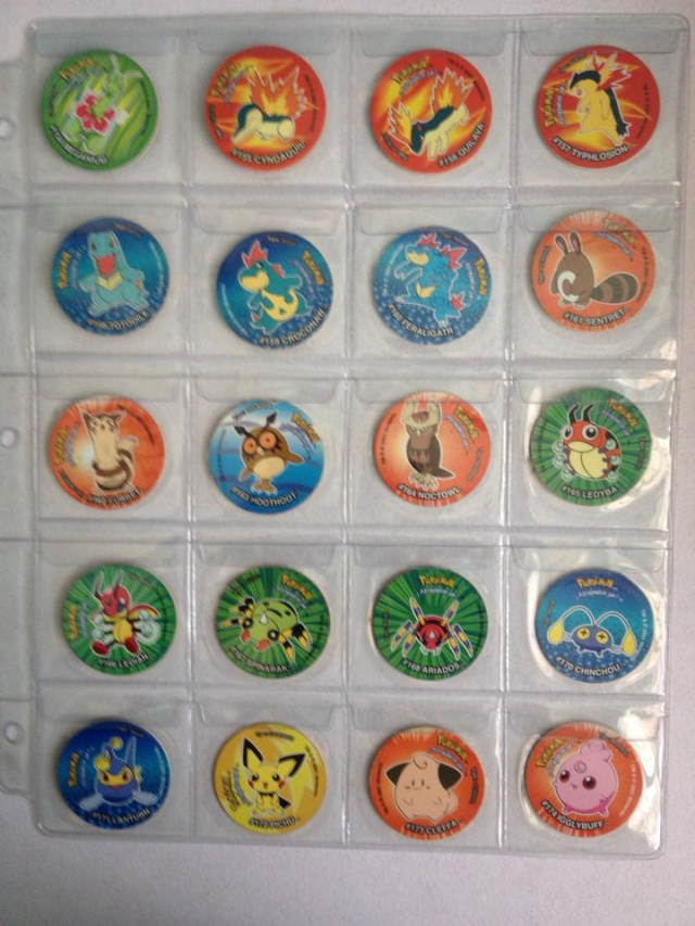 Tazos Pokemon 3 Sabritas 213